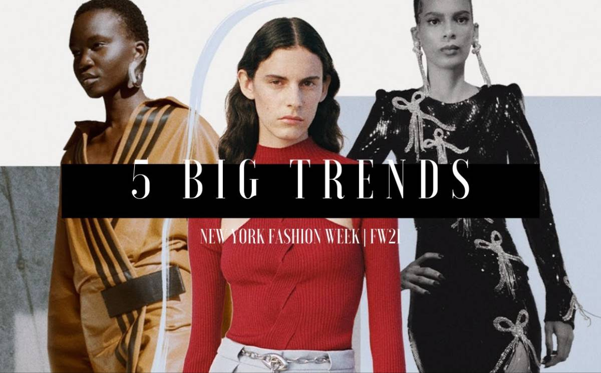 Video: 5 Big Trends From New York Fashion Week | FW21
