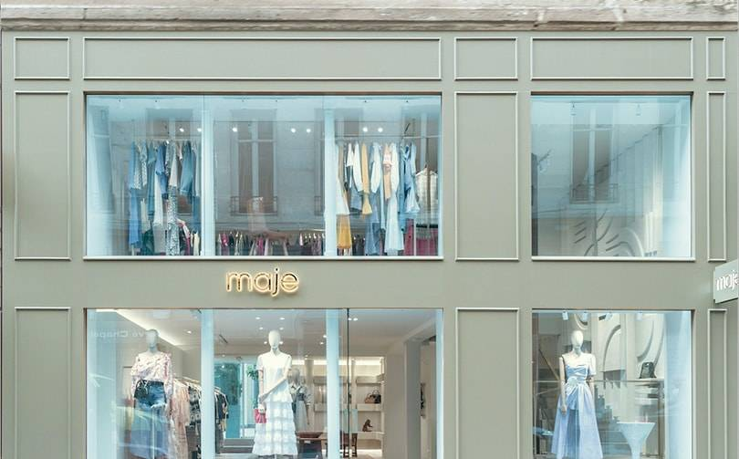In Bildern: Die neue Maje-Boutique in der Pariser Rue Saint-Honoré