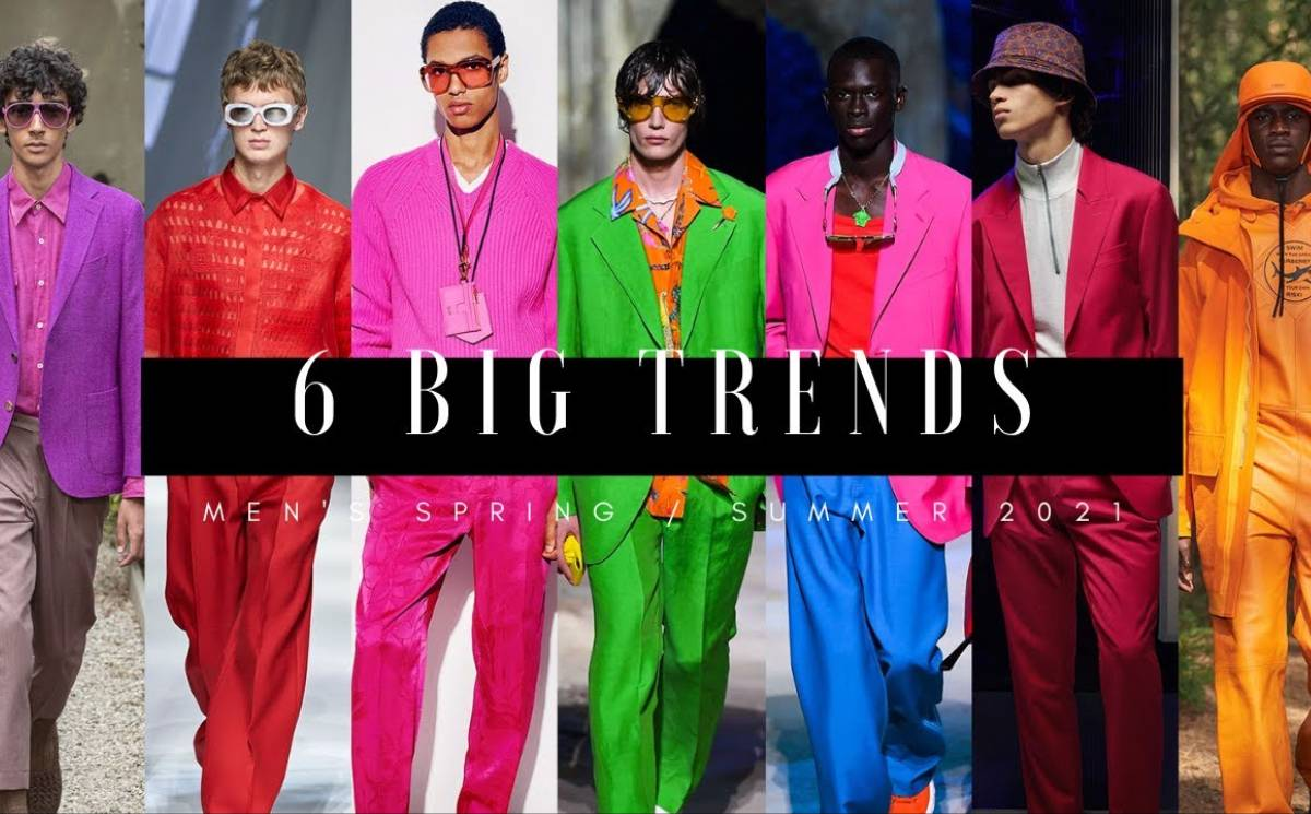 Video: 6 Big Trends - Men's Spring/Summer 2021