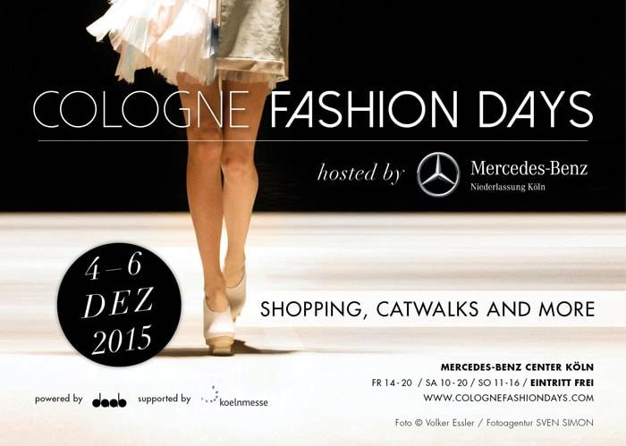 Cologne Fashion Days hosted by Mercedes-Benz Köln