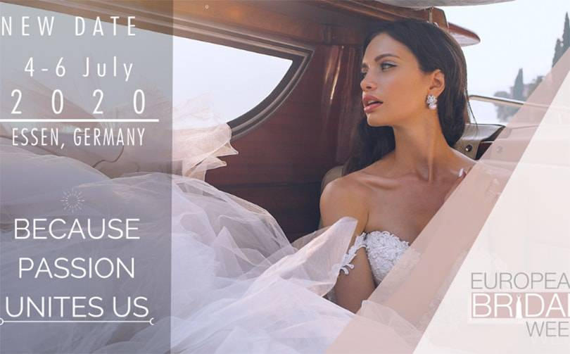 European Bridal Week 2020– Because Passion Unites Us