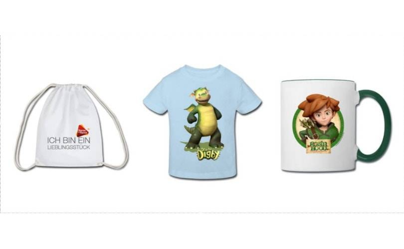 Spreadshirt x ZDF: T-Shirts mit Drache Digby, Insectibles & Co.
