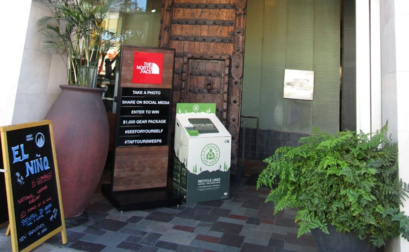 The North Face erweitert Recycling-Initiative
