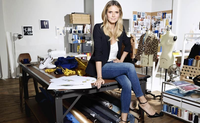 Heidi Klum & Lidl auf der New York Fashion Week