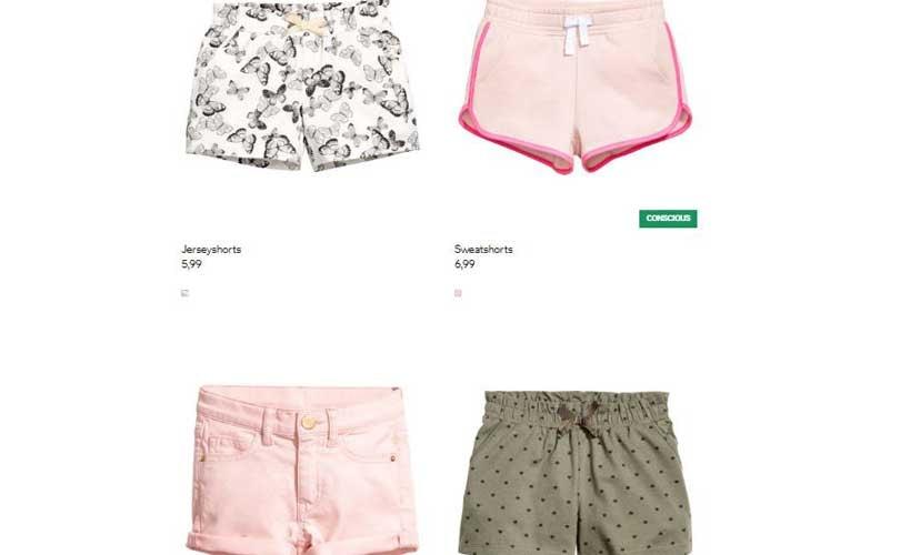 H&M gerät wegen zu kurzer Mädchen Shorts in die Kritik