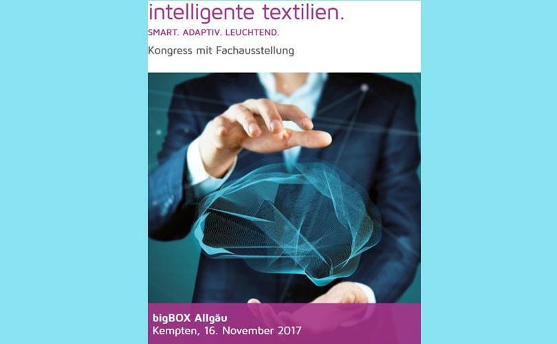 """Innovationskongress """"Intelligente Textilien"""" In Kempten"""