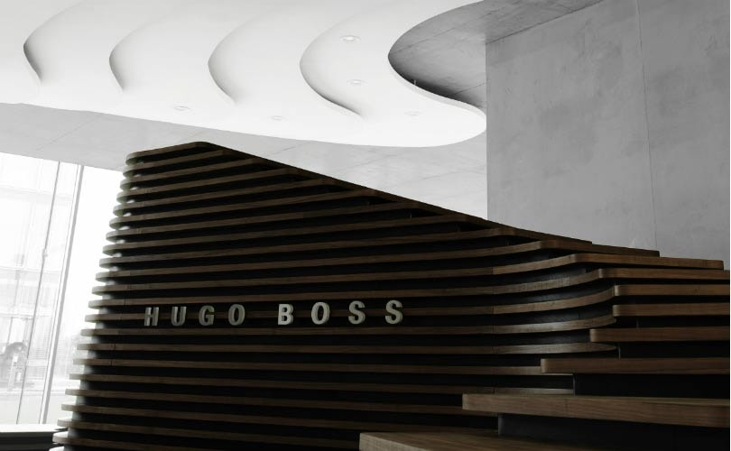 in bildern das hugo boss headquarter in metzingen. Black Bedroom Furniture Sets. Home Design Ideas