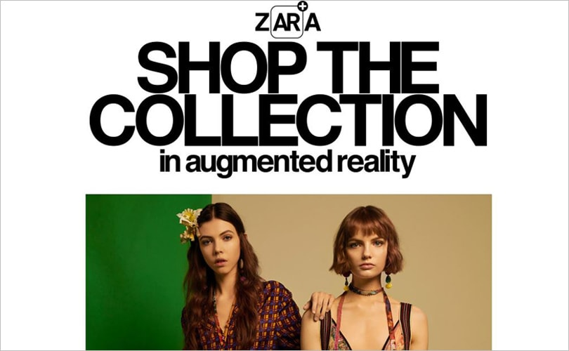 Zara startet Augmented Reality