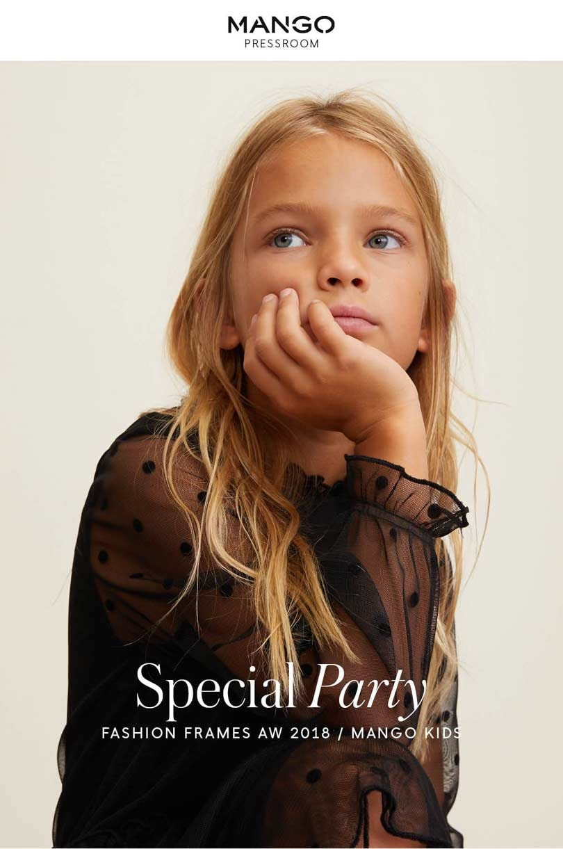 MANGO KIDS_ SPECIAL PARTY AW18