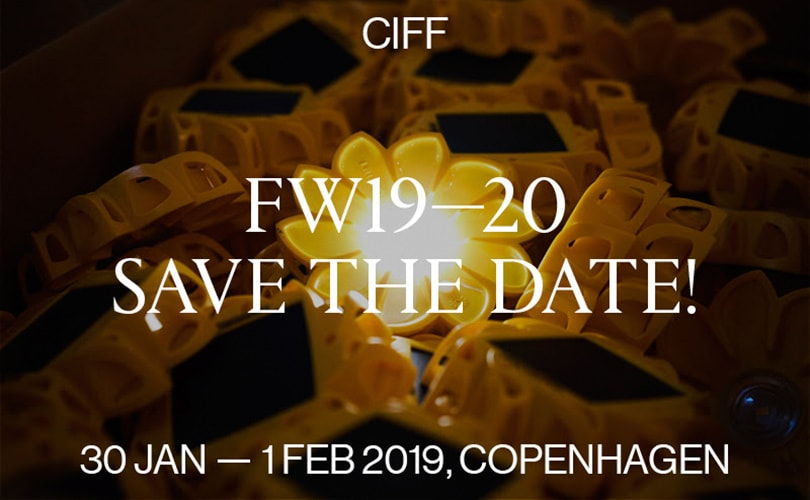 Save the date for CIFF FW19-20!