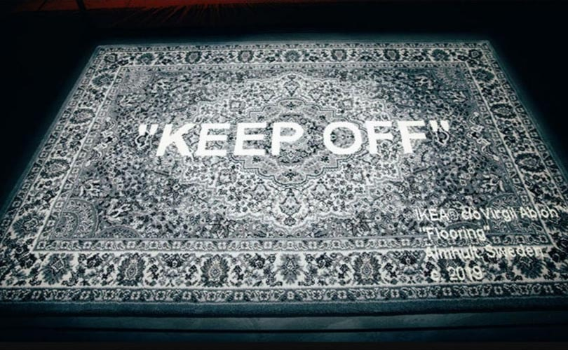 Off White X Ikea Teppiche Bereits Im Vorverkauf Ein