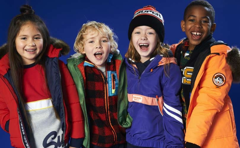 Superdry plant Kindermodereihe mit Superdry Kids