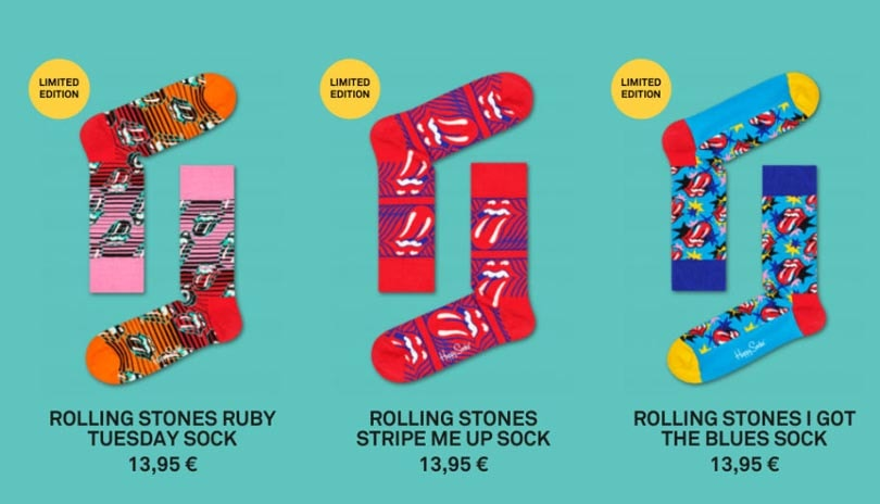 In Bildern: Happy Socks x Rolling Stones
