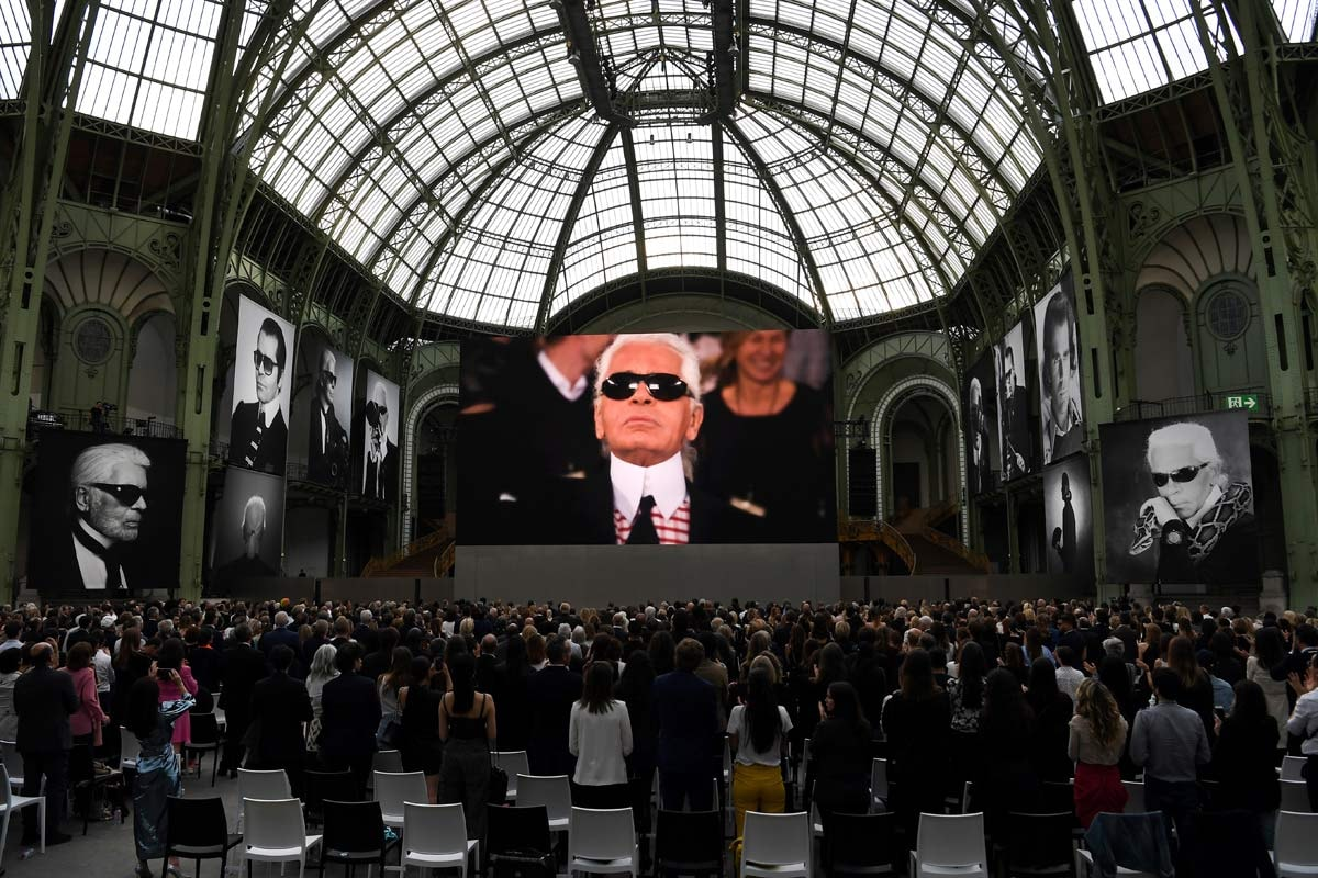 «Karl For Ever»: Paris ehrt gestorbenen Stardesigner Lagerfeld