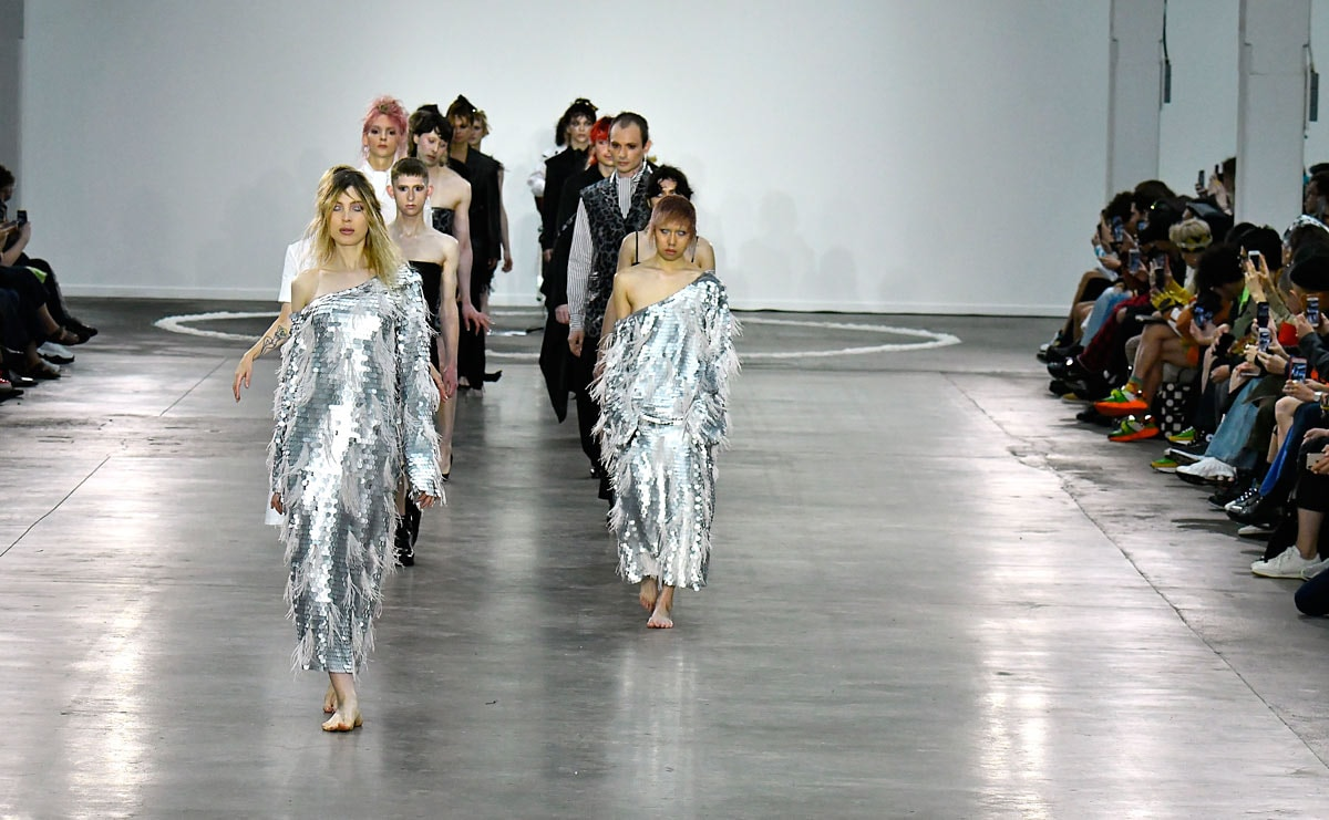 Zombies und Frauen: London Men's Fashion Week geht zu Ende