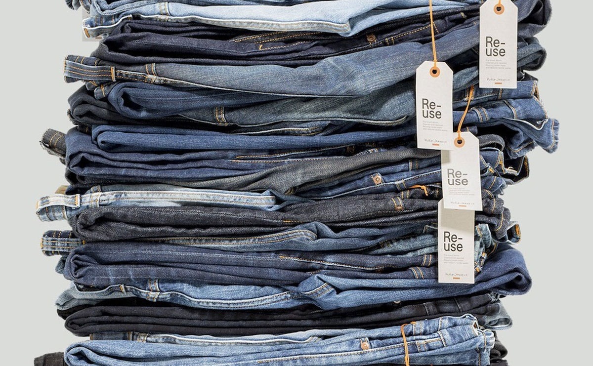 Nudie Jeans bring Re-Use Jeans heraus