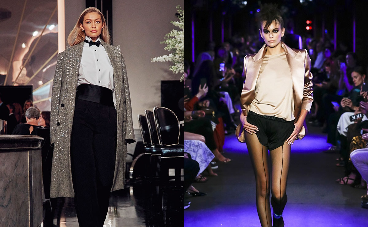 Die Titanen der New York Fashion Week