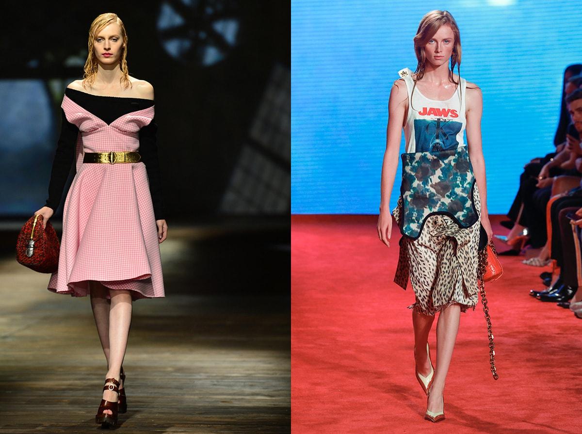 Die erste Kollektion von Raf und Miuccia für Prada: Was ist zu erwarten?