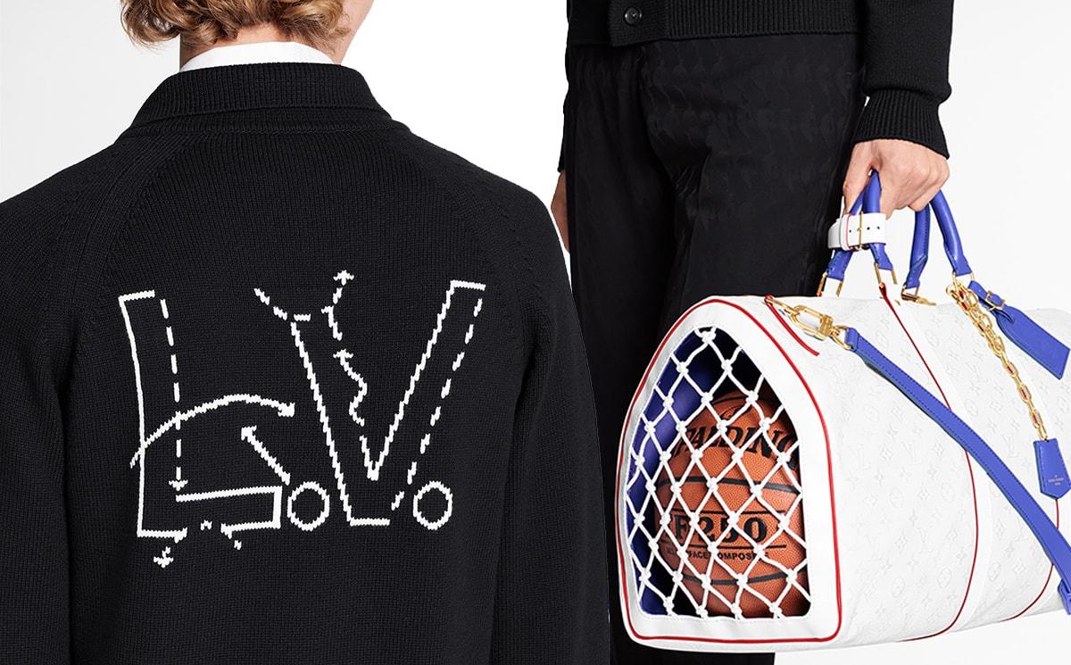 Louis Vuitton und Virgil Abloh kooperieren mit der NBA