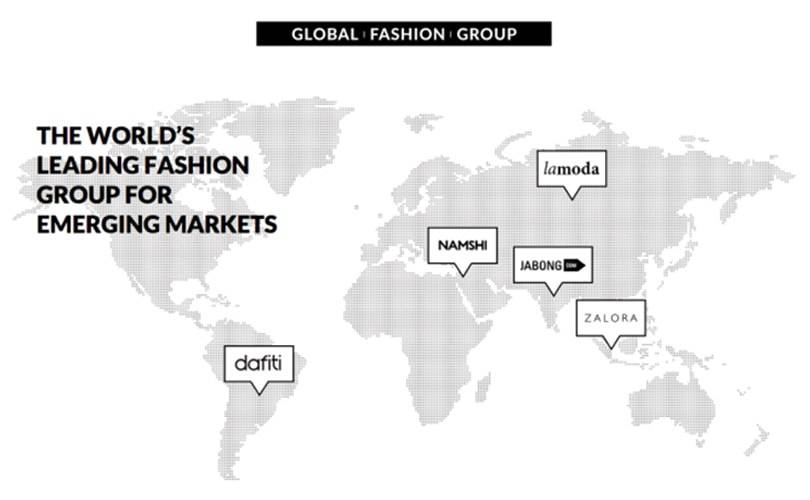 Finanzspritze: Global Fashion Group sammelt über 300 Millionen Euro ein