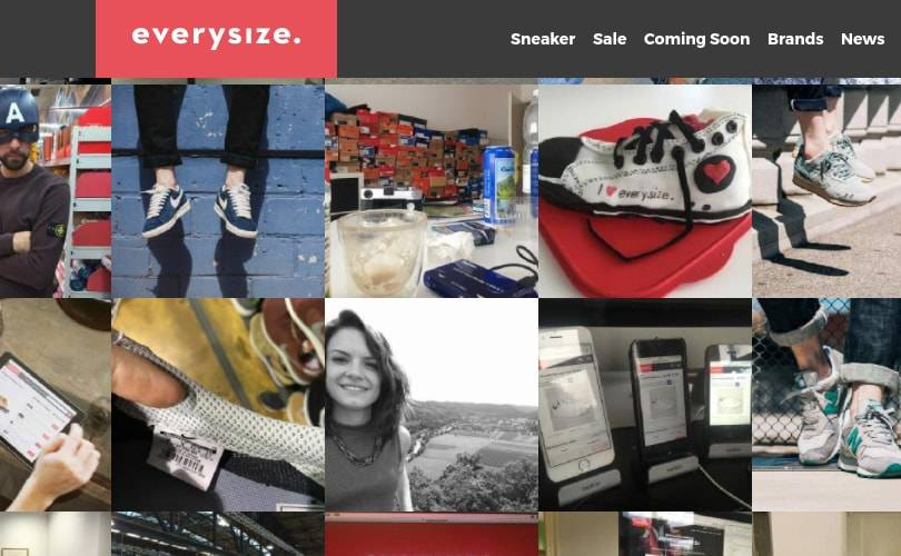Sneaker-Site Everysize will in die USA